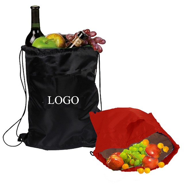 Drawstring Backpack Cooler Bag