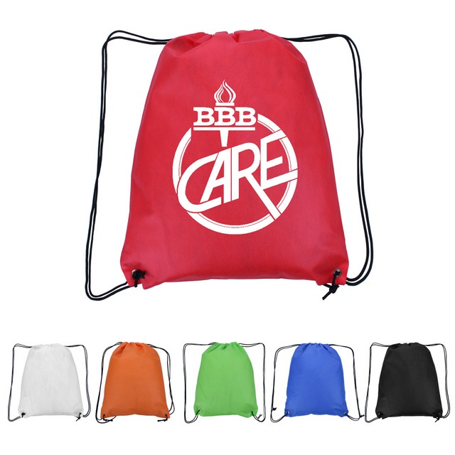 Cinch Bag Non Woven Drawstring Pack