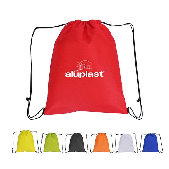 Drawstring Pack Non Woven Sports Bag