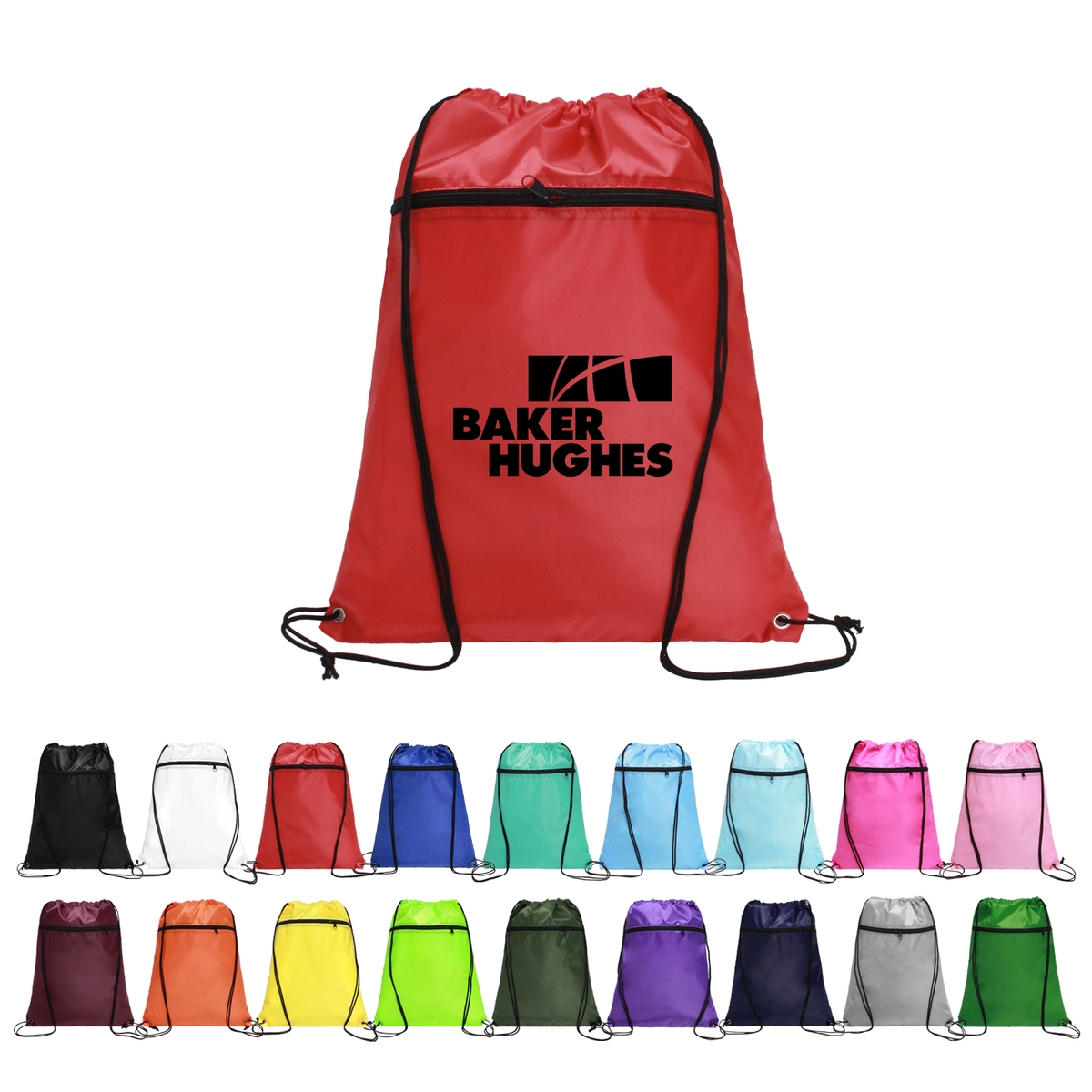 Drawstring Backpacks With Front Pocket