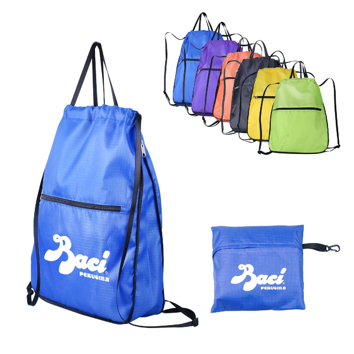 Large Size Foldable Drawstring Backpack