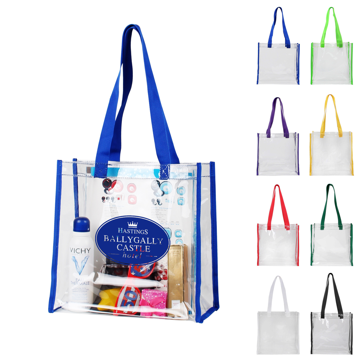 PVC Clear Tote Bags