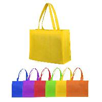 Middle Non-Woven Grocery Totes - Middle Non-Woven Grocery Totes