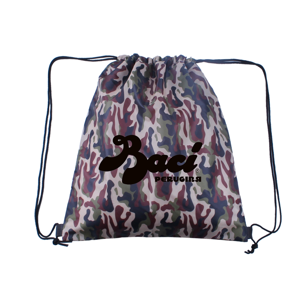 15W x 16H inch  Camo Drawstring Backpacks - 15W x 16H inch  Camo Drawstring Backpacks